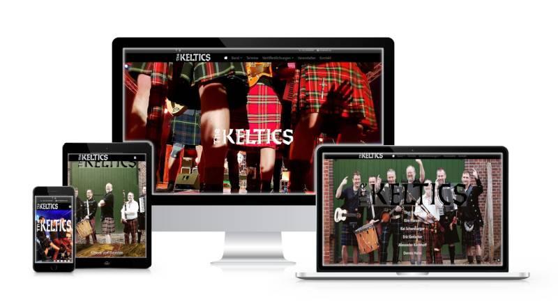 Bild der Webseite Keltics.de