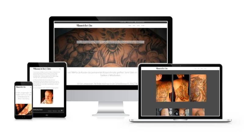 Bild zeigt Harrys Tattoo